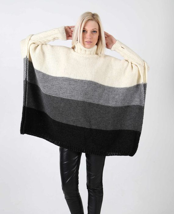 PDF pattern. Hand knitted one size multicolour by IlzeOfNorway ...