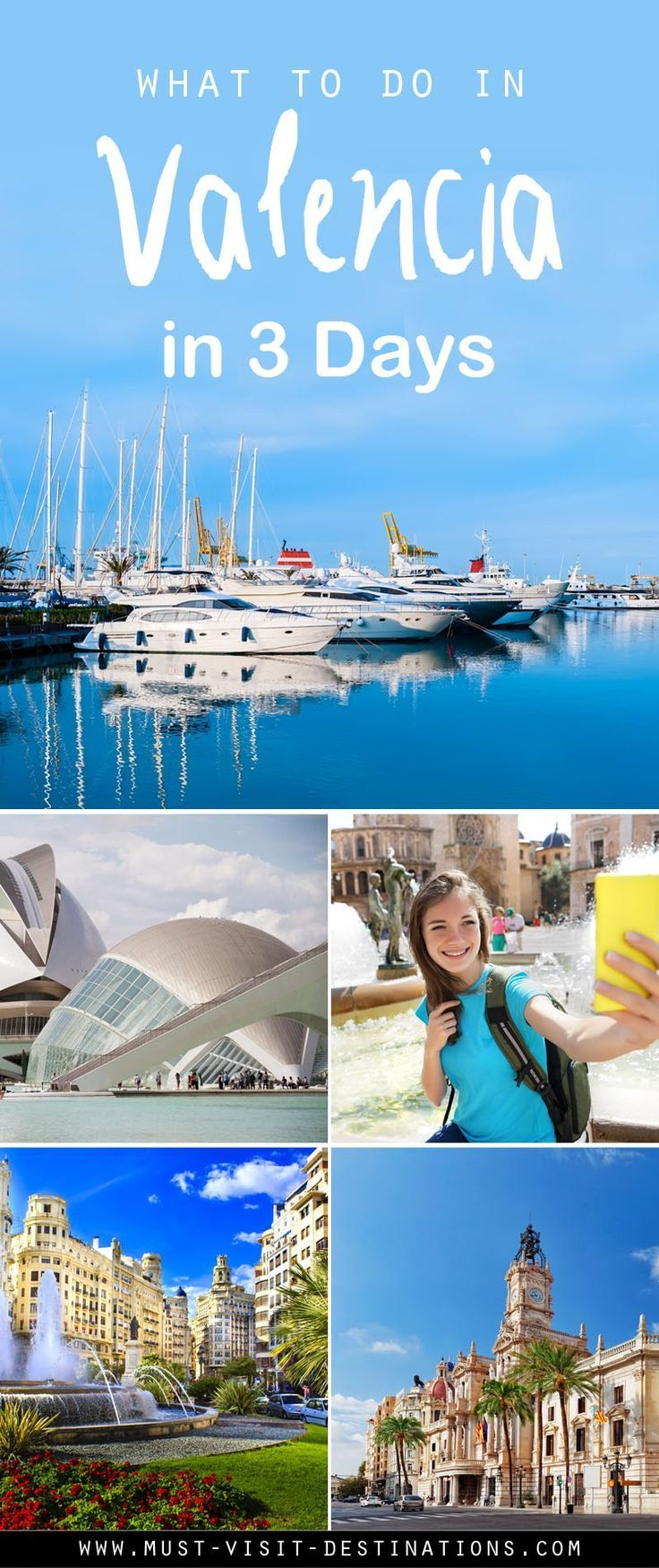 Valencia Is One Of The Most Important And Most Exciting Spanish Cities Putting A Big Accent On Traditions And Festivities Valencia Spanje Spanje Reizen Reizen