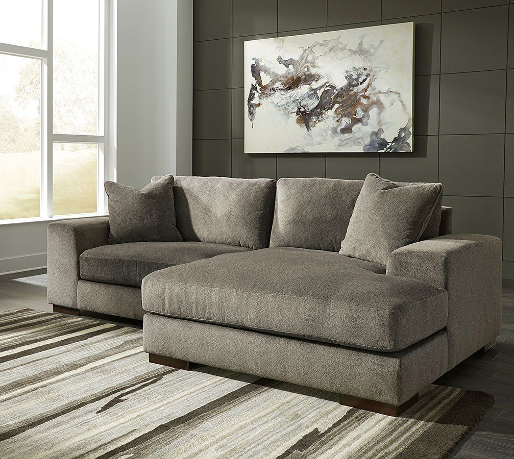 Manzani Graphite Right Chaise Sectional