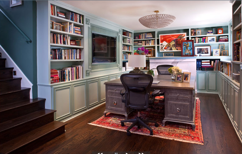 Basement Office Love The 48 Desks Facing Each Other Decor Best Basement Office Design
