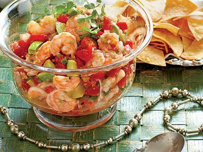 Mexican Shrimp Cocktail #mexicanshrimprecipes