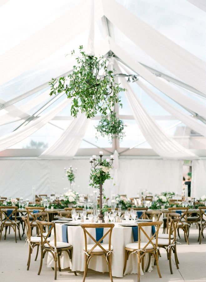 Gorgeous tented reception: http://www.stylemepretty.com/2016/01/19/elegant-traditional-scottish-wedding-in-colorado/ | Photography: Connie Whitlock - http://conniewhitlockphoto.com/