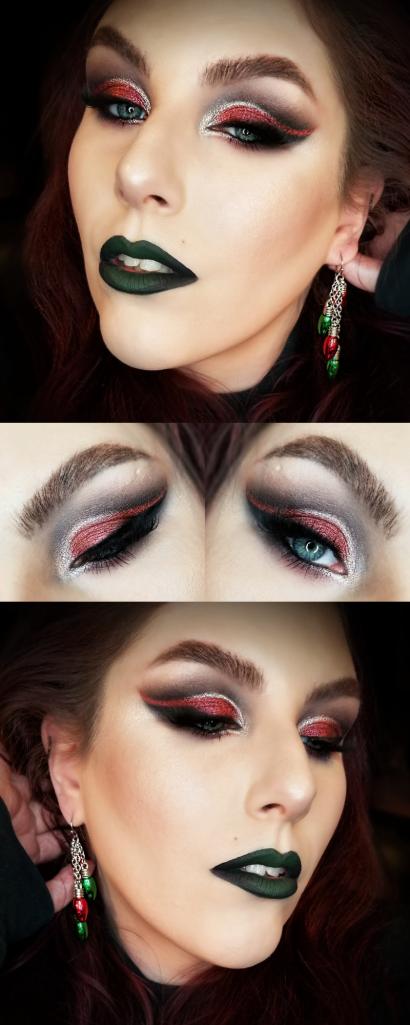 Get the Look Christmas makeup tutorial, Christmas makeup