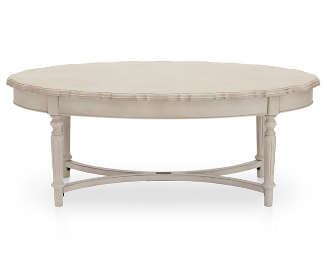 Amazing Magnolia Home Pie Crust Coffee Table Furniture Row Pabps2019 Chair Design Images Pabps2019Com