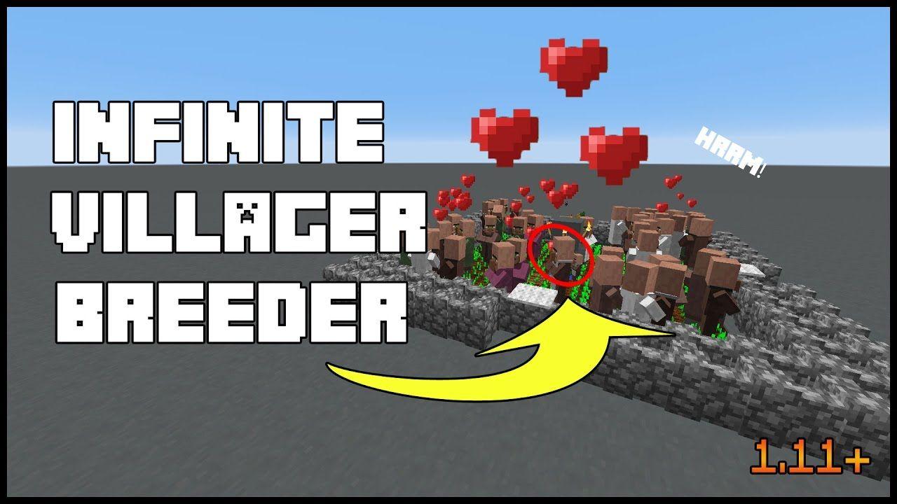 ✓ Minecraft | Infinite Villager Breeder 1 11+ - YouTube