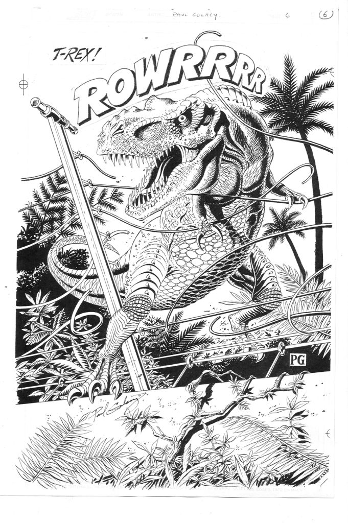 Paul Gulacy Splash Jurassic Jam Return To Jurassic Park