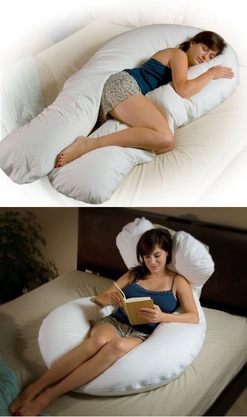Comfort U Total Body Support Pillow (Full Size) by Moonlight