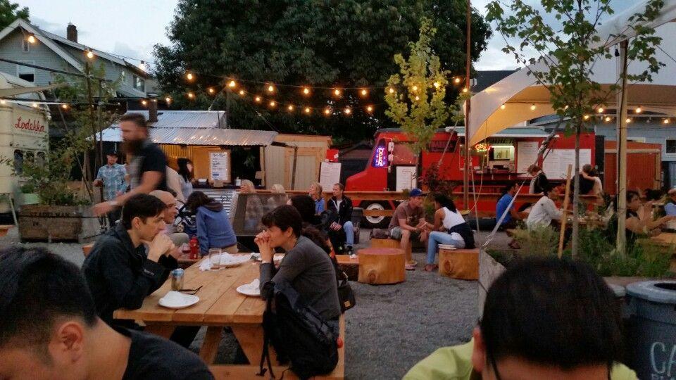 Tidbit Food Farm and Garden Food truck festival