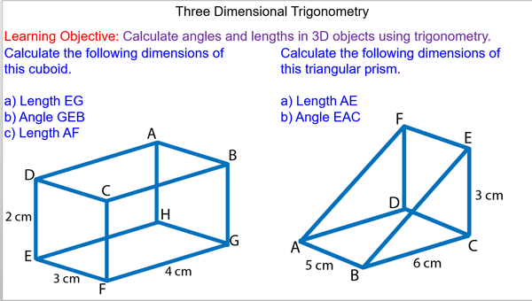 solving problems with trigonometry