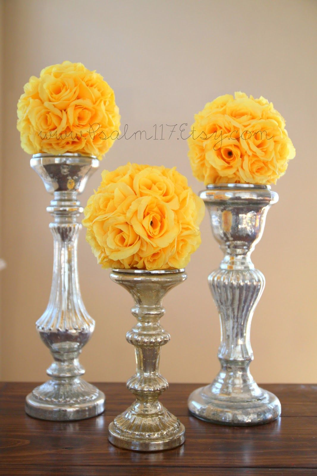 Flower Ball Centerpieces Inchrosepomanderweddingballsflower