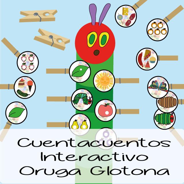 Cuentacuentos Interactivo de la Oruga Glotona | Pinterest | Eric ...