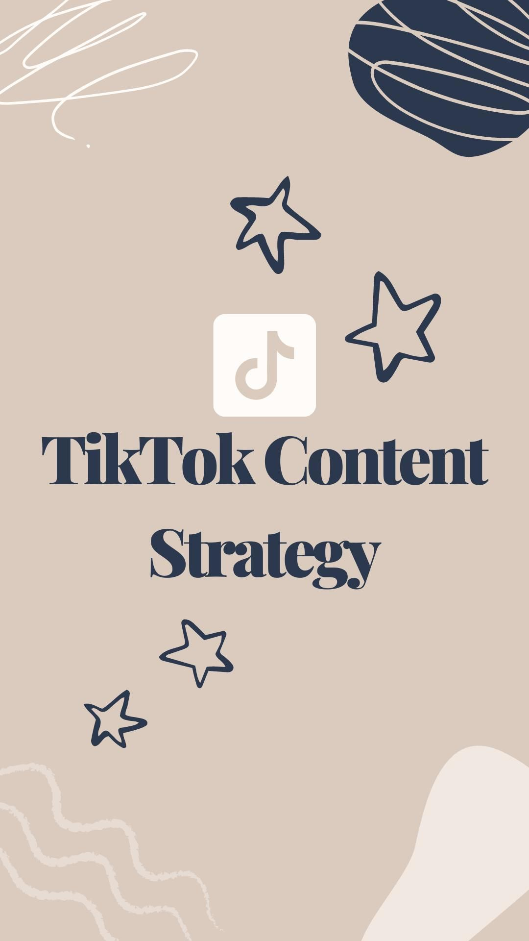 Video Tiktok Content Strategy Di 2021