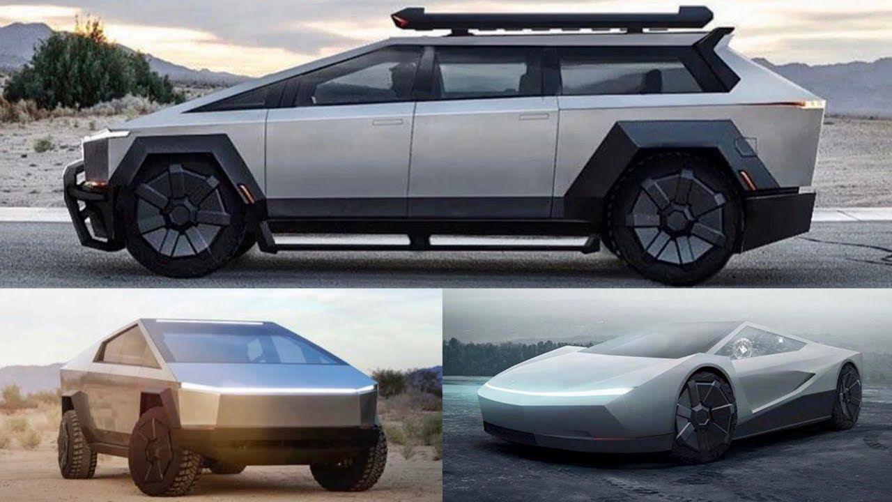 Is Cybertruck just the beginning of a Cyber Lineup?  #electriccar #truck #Telsa #SUV #van #car #conceptcar