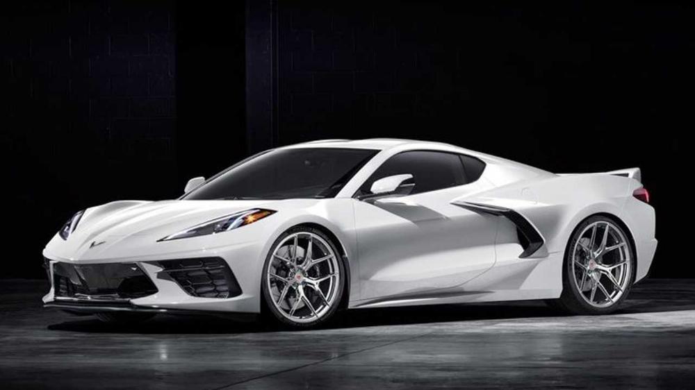 2020 Chevy Corvette Looks Even Better On Aftermarket Wheels Chevy Corvette Corvette Wheels Chevrolet Wheels