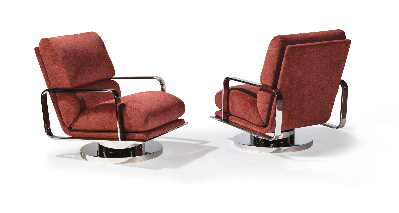 Fine Mercury Swivel Rocking Chair By Milo Baughman From Thayer Cjindustries Chair Design For Home Cjindustriesco