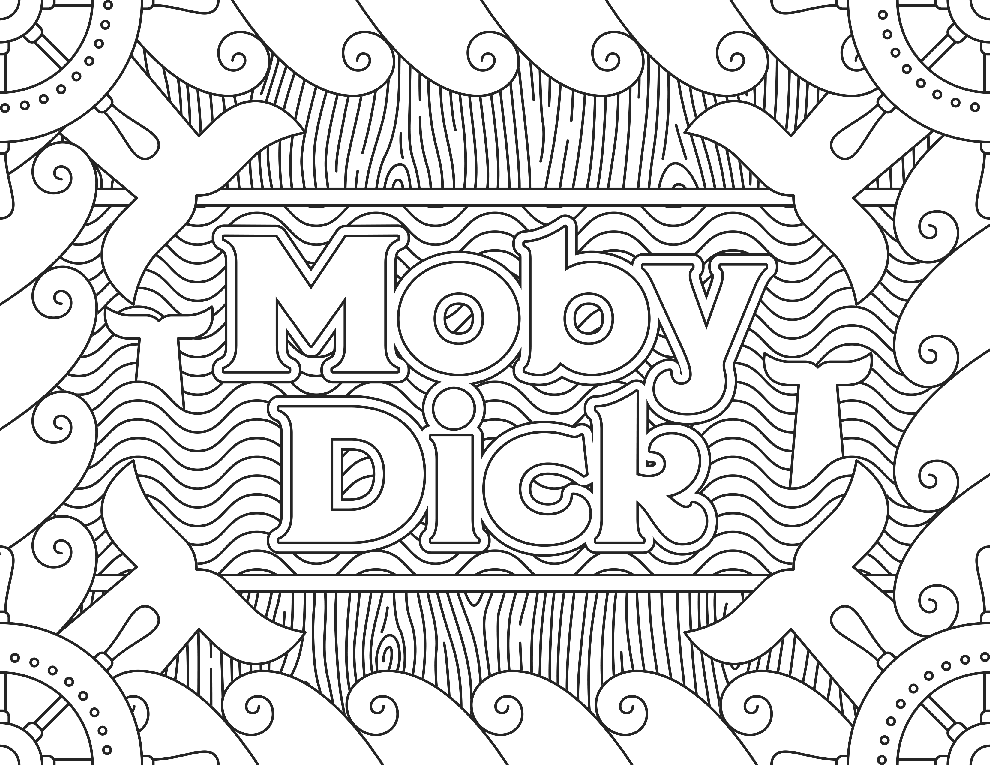 Here are coloring pages created from famous movie posters