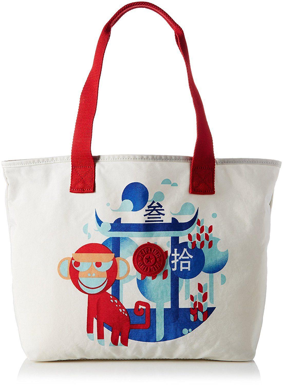 feebae548d5 Kipling Women's Congratz Canvas and Beach Tote Bag | Women's Bags ...
