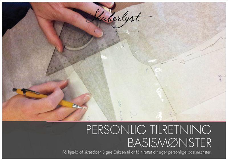 Til Workshop; Overdele Kjole Personlig Og Grundmønster Tilretning qzqFWtgvB