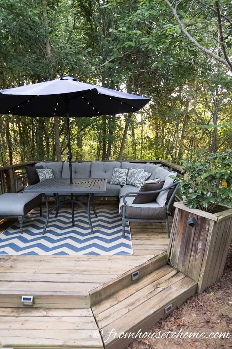 small patio decorating ideas that make your deck into an outdoor rh pinterest com