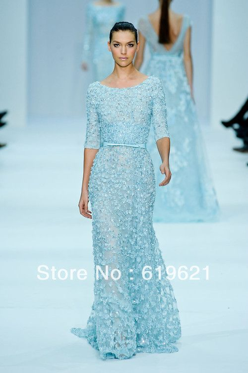 Free shipping Elie Saab Dresses For Sale Elegant A Line Scoop ...