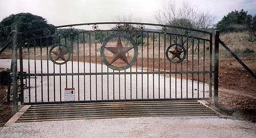 Ranch Driveway Entrances Custom Metal Driveway Gates Custom Made