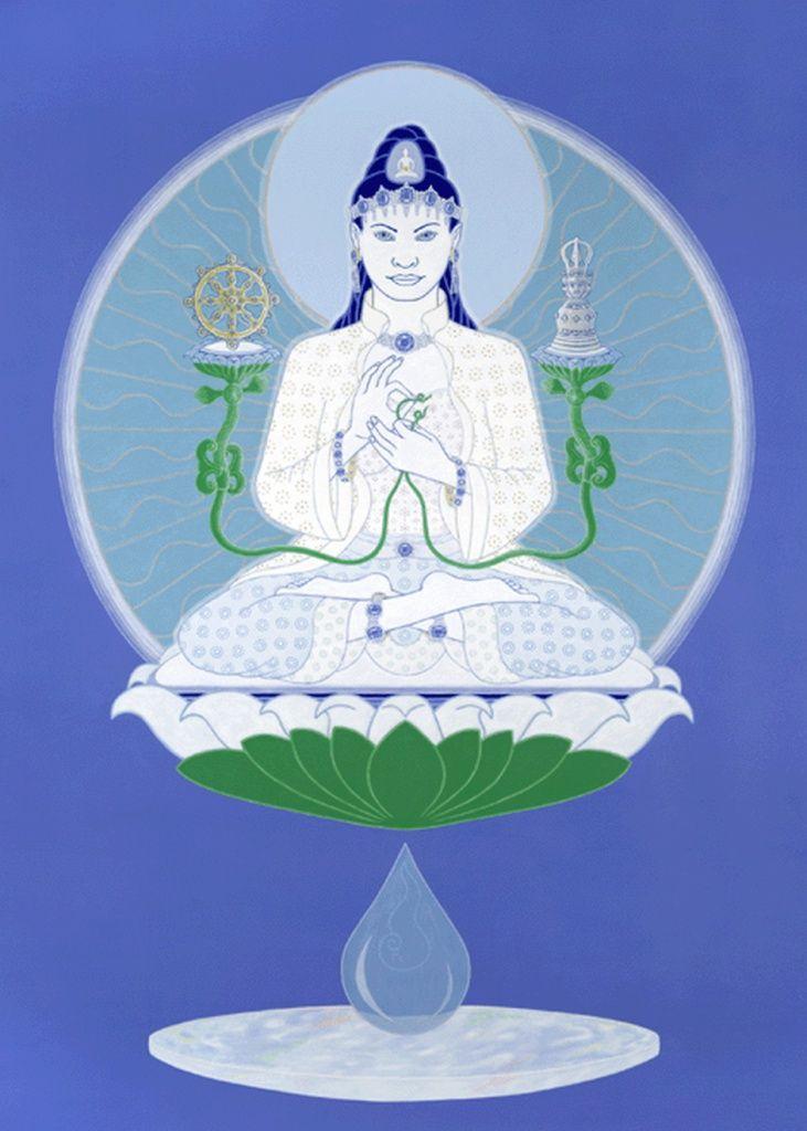 Akasadhatesvari Variochana társnője