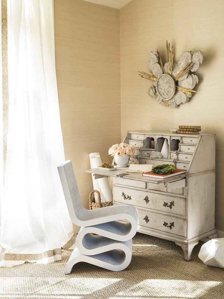 9 chic ways to work a secretary desk into any room interior design rh pinterest com