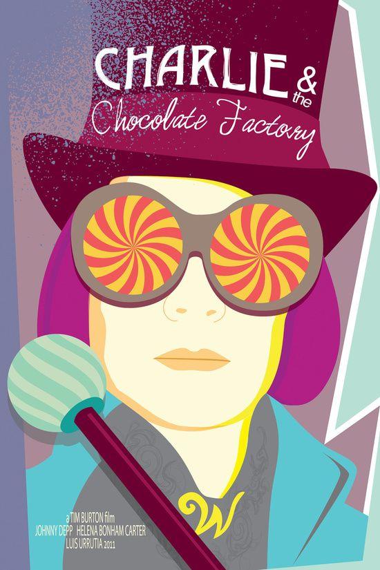 Tim Burton S Charlie And The Chocolate Factory Art Print