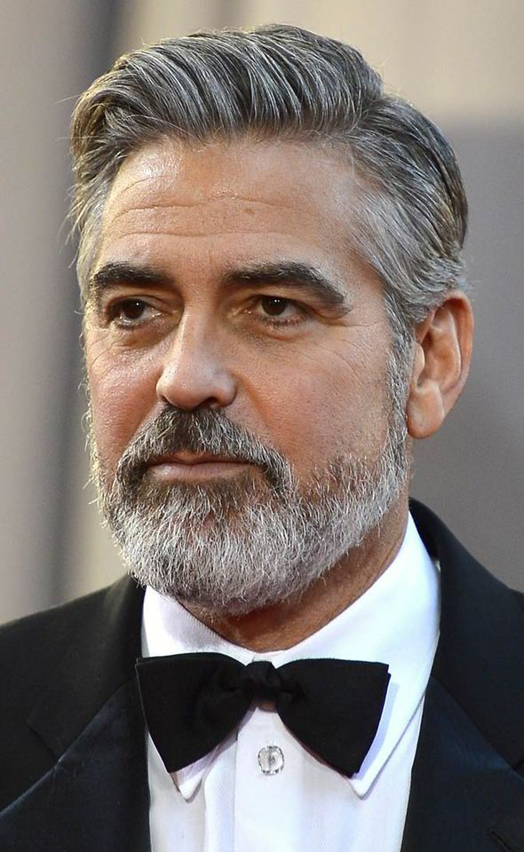 george clooney hair 2014 - Google Search