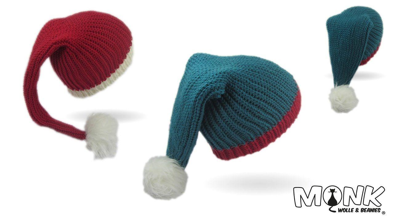 Mütze häkeln - Zipfelmütze bosnisch häkeln - Pixiemütze bosnisch ...