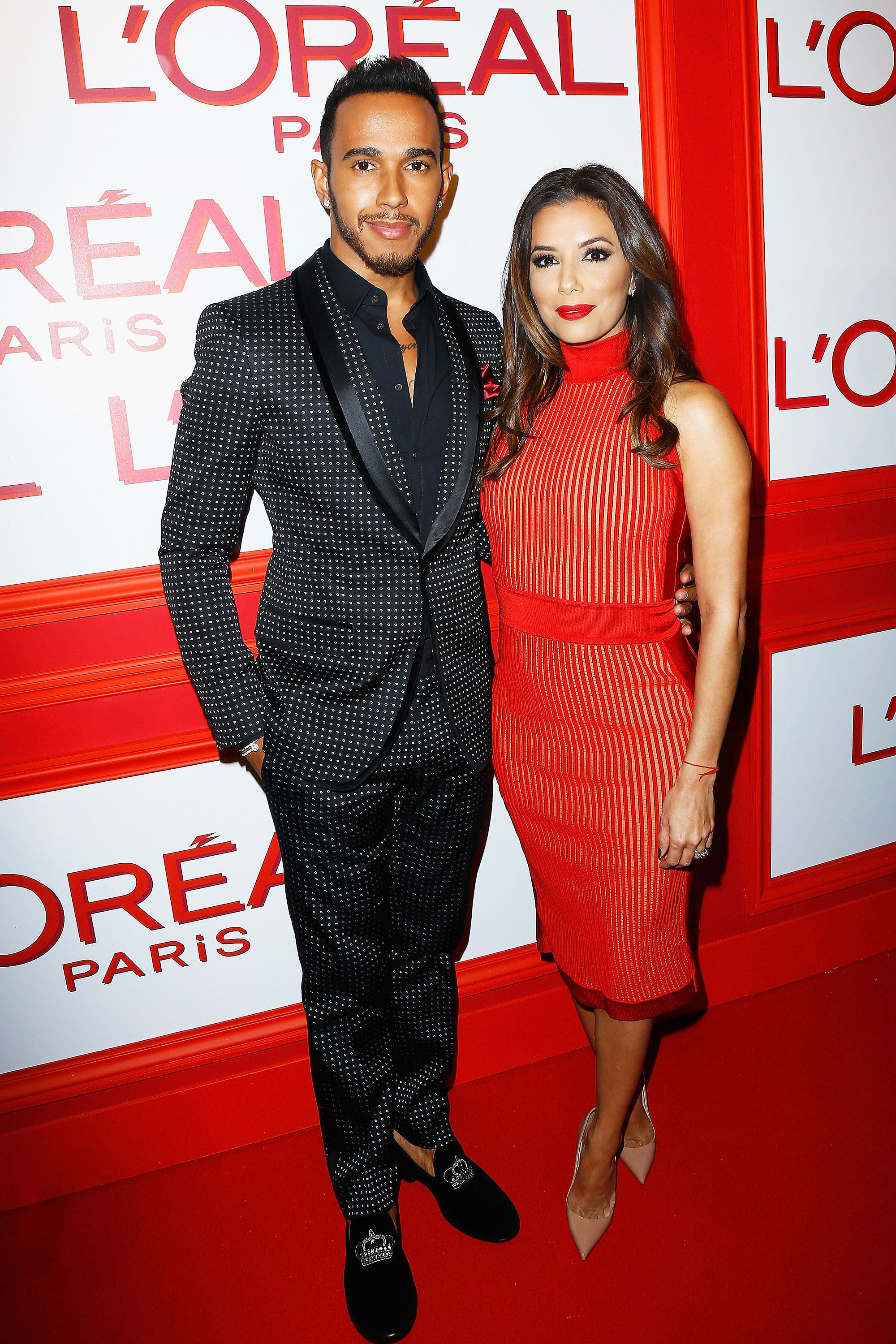 88c9644ca2a Eva Longoria Was Hotter Than All the Models at L Oréal s Red Obsession PFW  Party