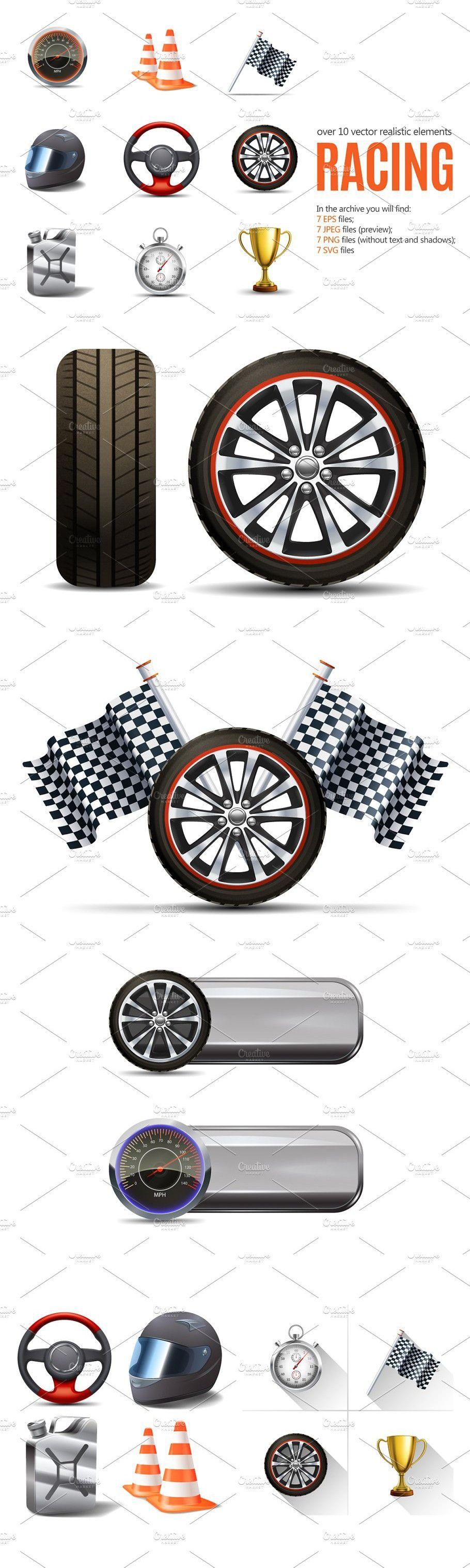 Racing Realistic Set Racing Settings Stopwatch