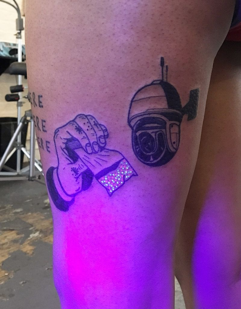 UV Tattoos Uv tattoo, Tattoos, Tattoo healing process