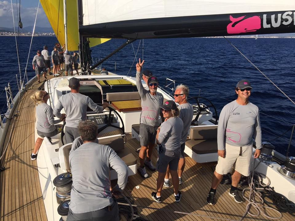 Last Week Rsbsteve Raced The Oyster Yachts Palma Regatta Aboard Eddie Jordon S Sailing Yacht Lush Coming In A Very Respectable 3rd In Class 1 Overall Behi