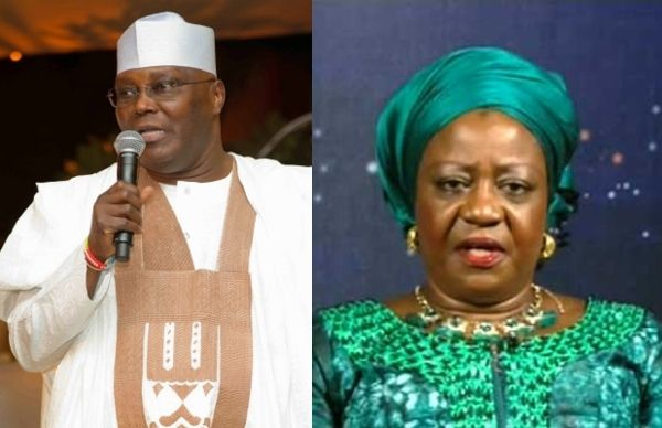 Atiku Demands Apology And N500m From Lauretta Onochie For Defamation Defamation Presidential Candidates Ridicule