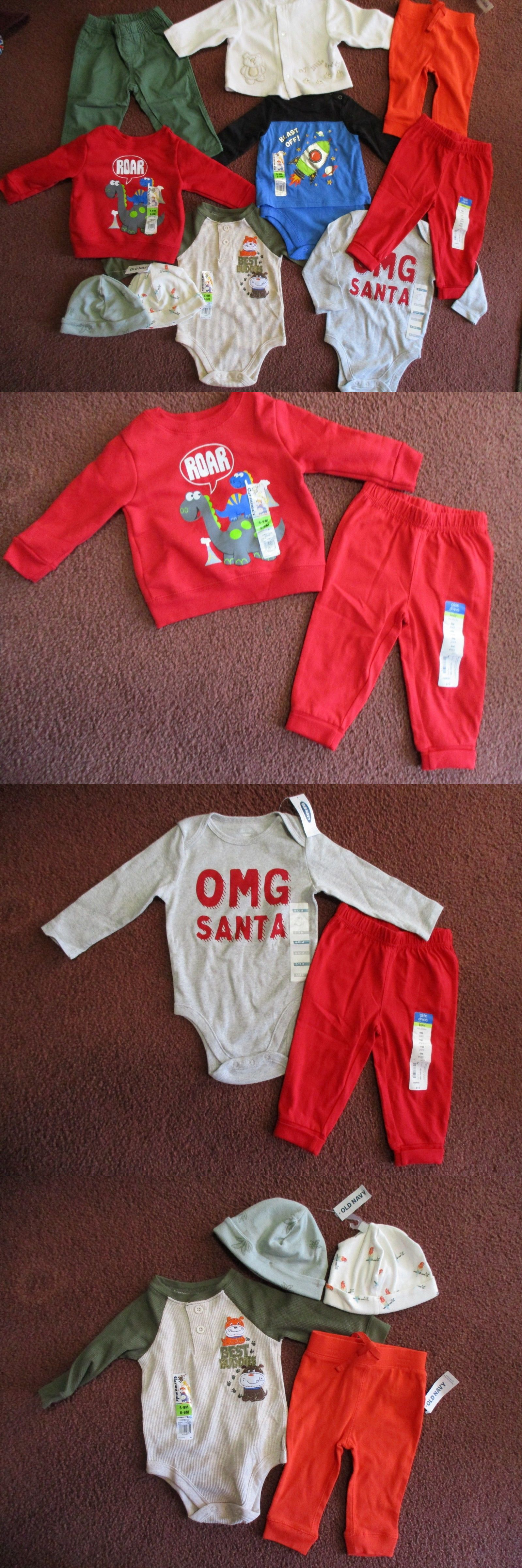 4e35776db5e8 Mixed Items and Lots 147342  10Pc Lot Baby Boys Size 6-12 Months ...
