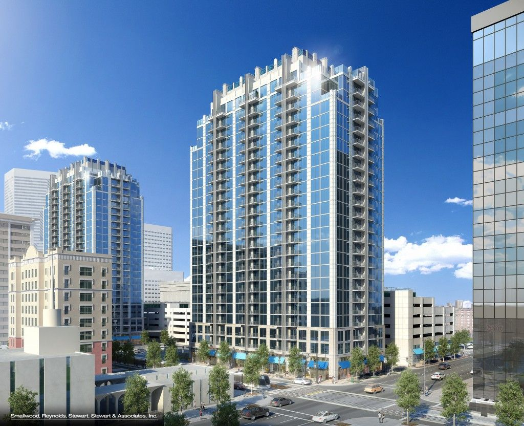 Apartment Overload In Houston City Second In Nation Behind Only Behind New York Houston Skyline Houston City Skyline