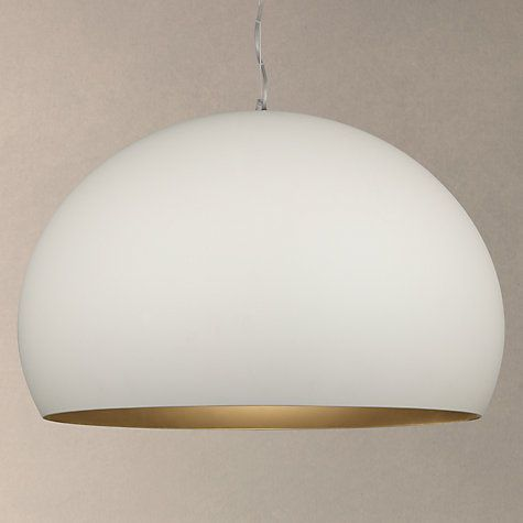 Buy kartell fly soft touch pendant ceiling light medium white buy kartell fly soft touch pendant ceiling light medium white online at johnlewis aloadofball Choice Image
