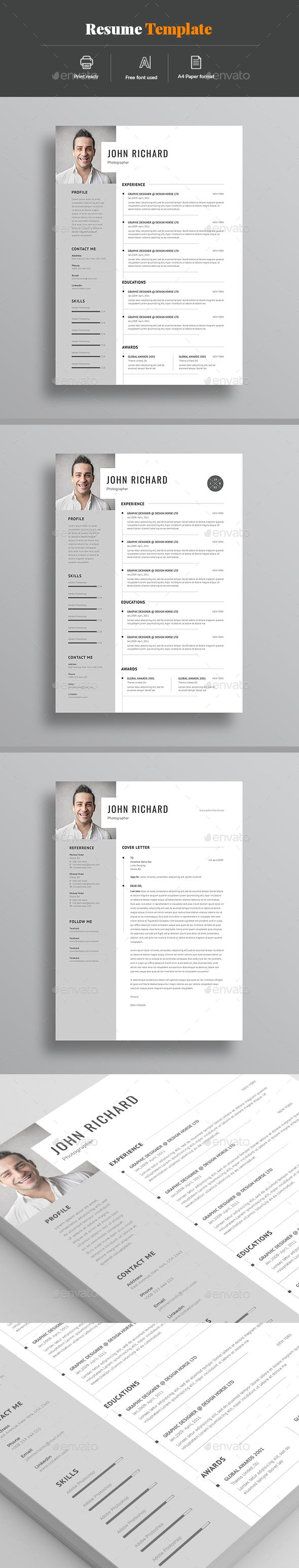 Resume Resumes Stationery Resume Pinterest