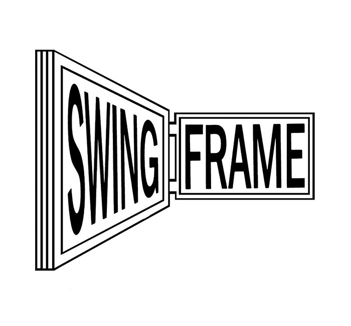 The SwingFrame Logo designed by Charles Abrams was introduced in ...