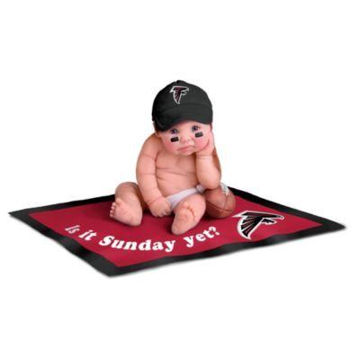 sale retailer c770e a857f Atlanta Falcons #1 Fan Commemorative Baby Doll Collection ...