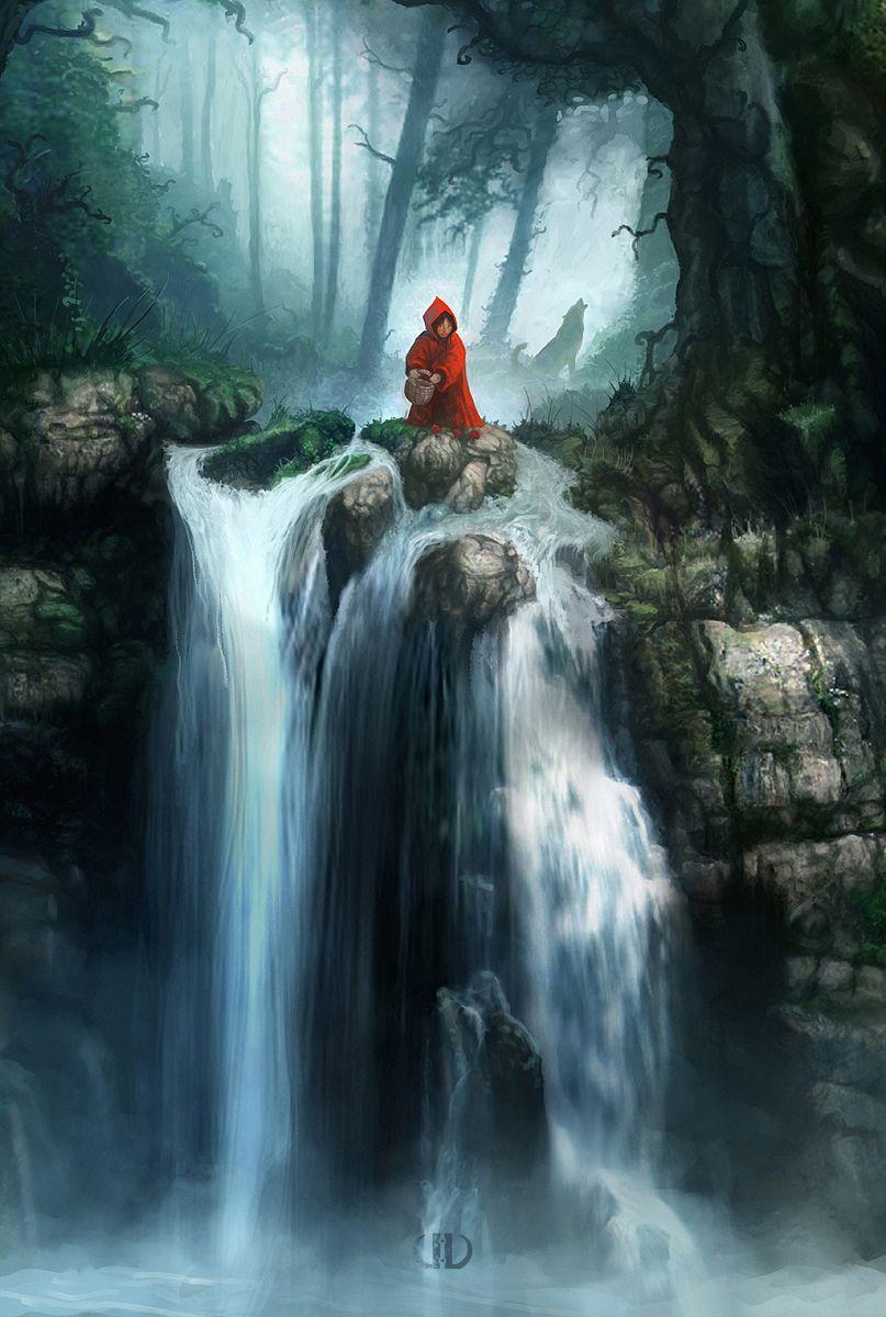 Little Red Riding Hood :: Artist Tierno Beauregard ...