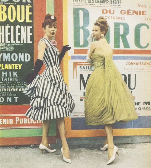 1960s party dresses by Maggy Rouff