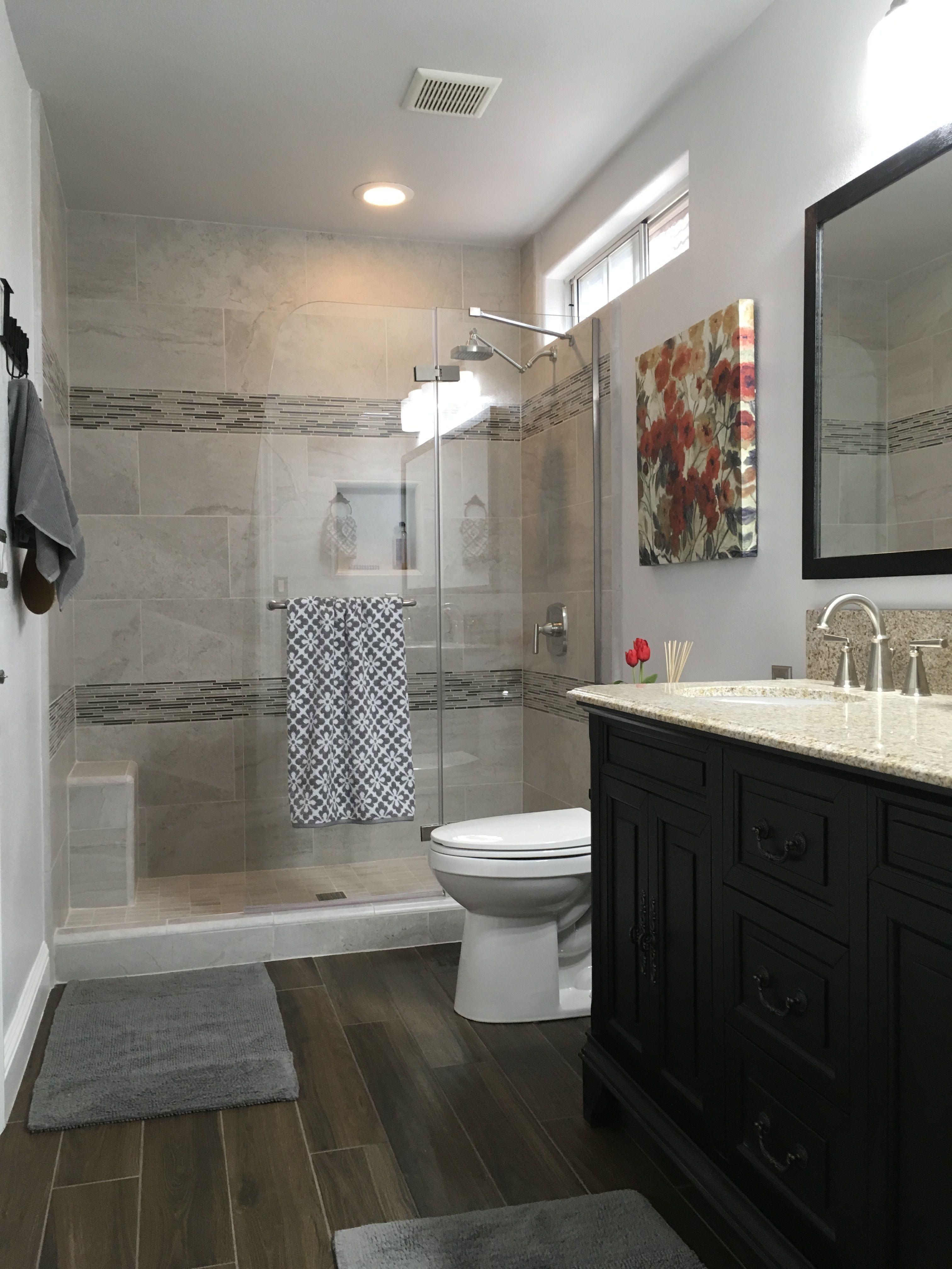 bathtub to walk in shower conversion and remodel rh pinterest com