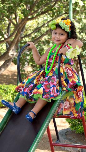 Tem coisa mais fofa que essa princesa com a nossa sapatilha Colorê? :P