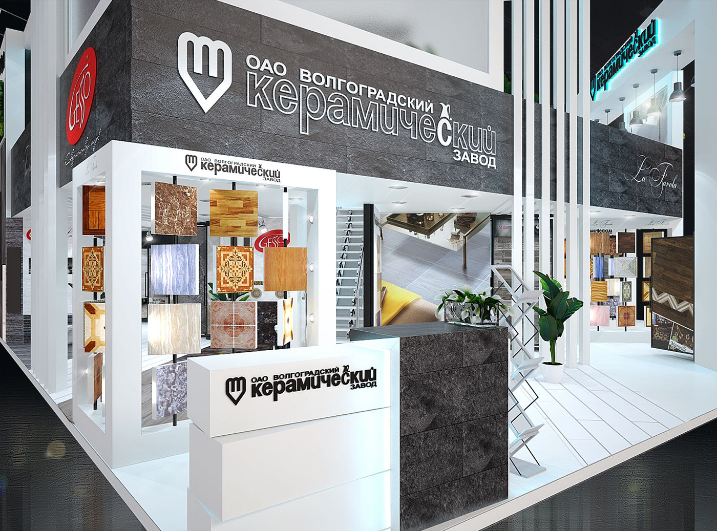 ВКЗ batimat russia stall behance