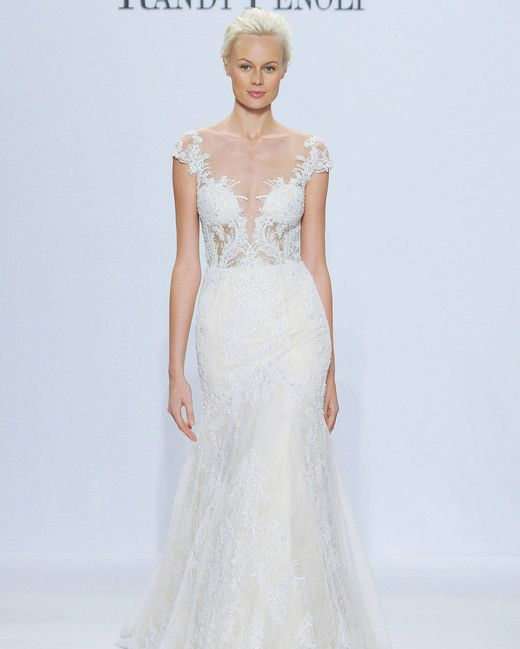 Trumpet Wedding Dresses with Sleeves 2018