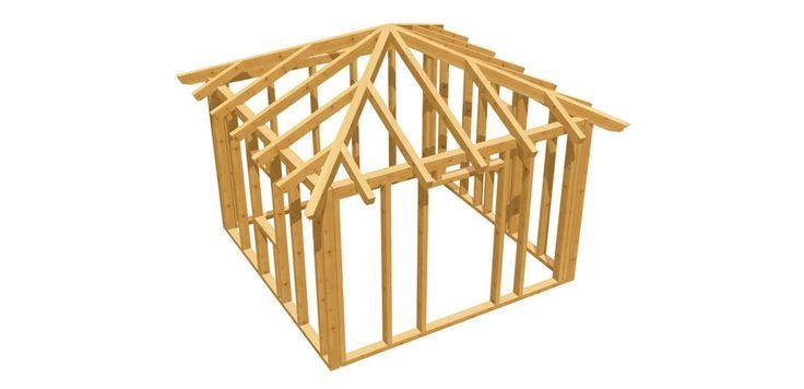 Gartenhaus Holz holzbauplan.de in 2020 Gartenhaus
