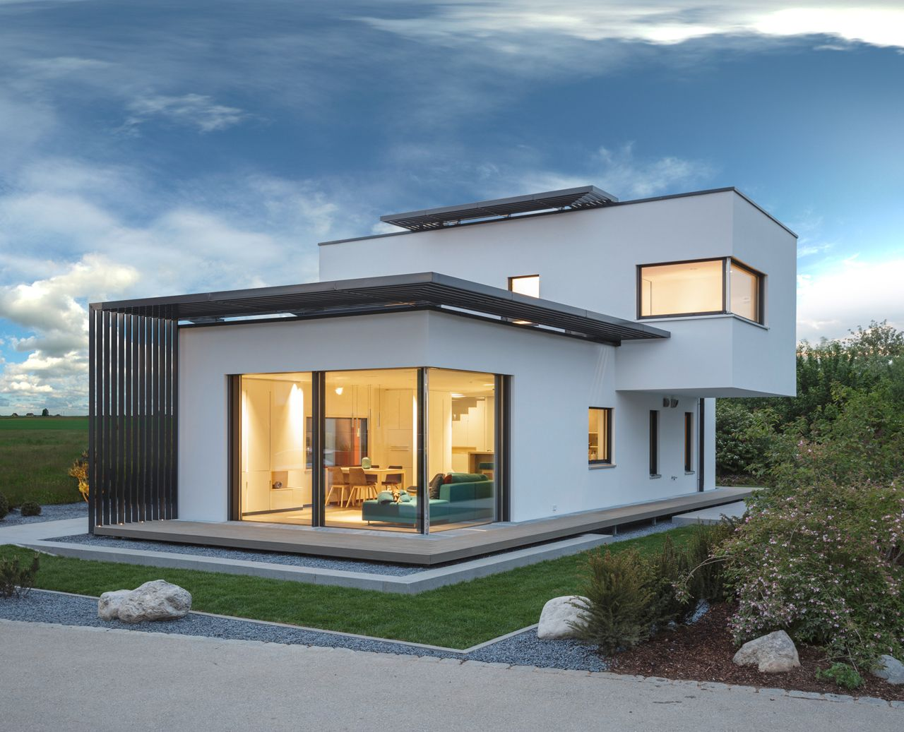^ 1000+ images about Haus on Pinterest House plans, Modern and Bauhaus