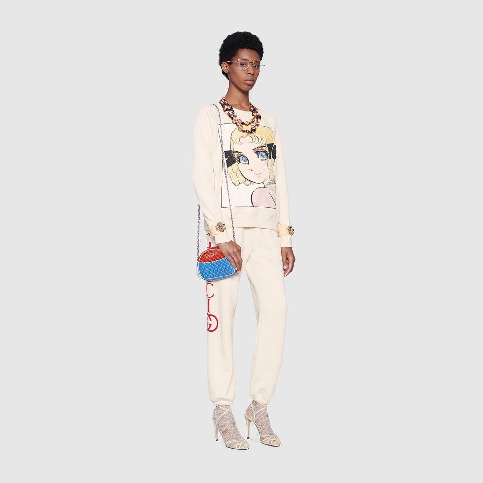 90ede87481 Gucci Cotton sweatshirt with manga print Detail 2 | Fashion Brands Women
